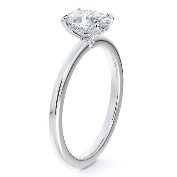 Forevermark Micaela Erlanger oval engagement ring
