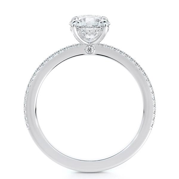 Forevermark Micaela Erlanger round engagement ring
