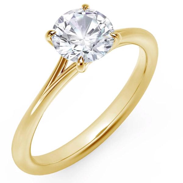 Forevermark soiltaire engagement ring