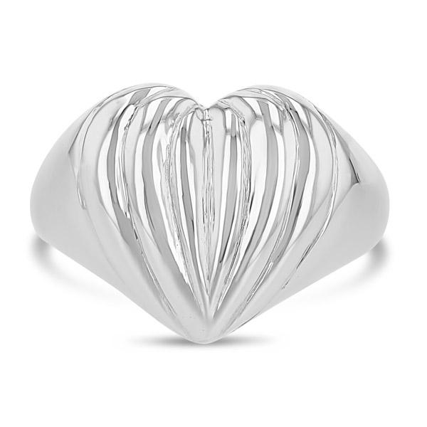 Grace Lee Cora heart ring
