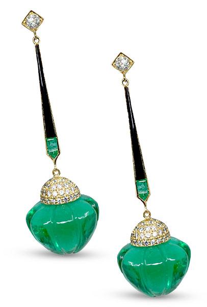 Hanut Singh tsarina earrings