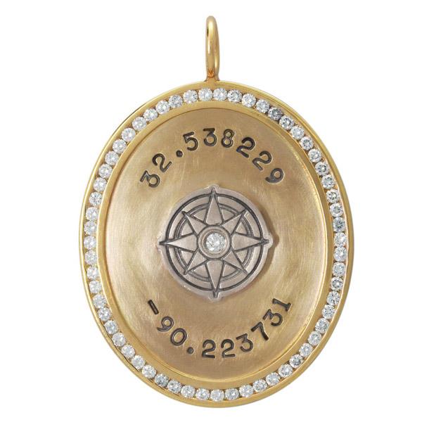 Heather Moore coordinates oval charm