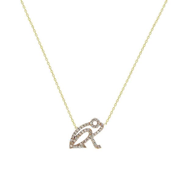 ITA Kiki Coqui gold necklace