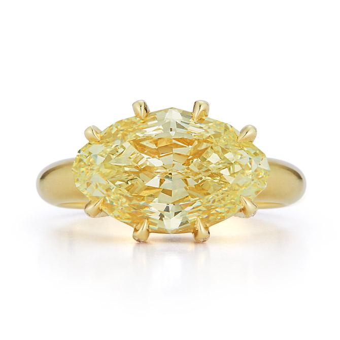 Jemma Wynne yellow diamond ring