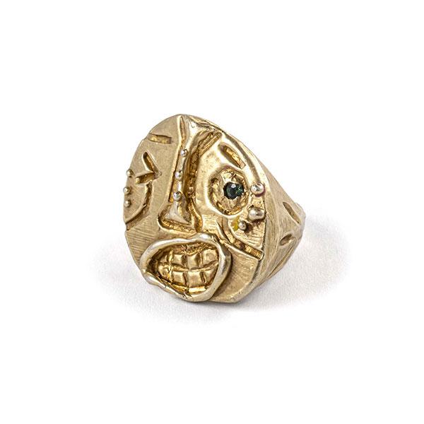Kalkidan Hoex ring