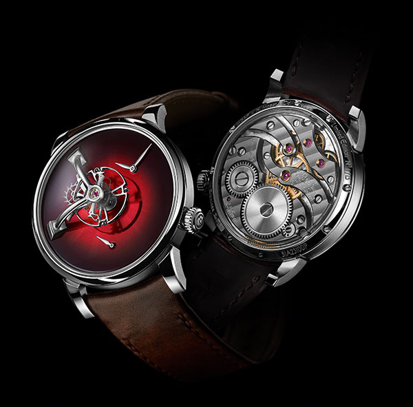 LM101 MB and F x H Moser watch