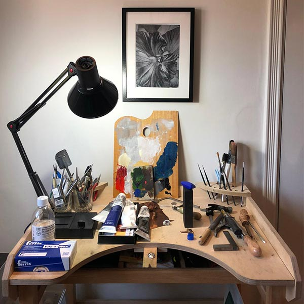 Liv Luttrell home studio