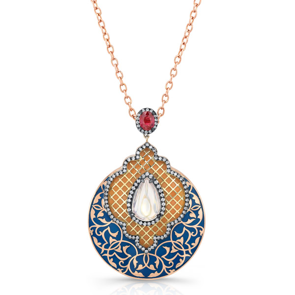 Lord Jewelry Dreamy moonstone pendant