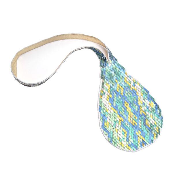 Mallory Weston snakeskin necklace
