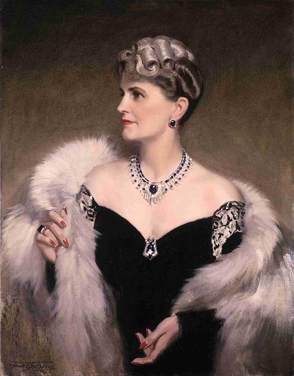 Marjorie Merriweather Post portrait
