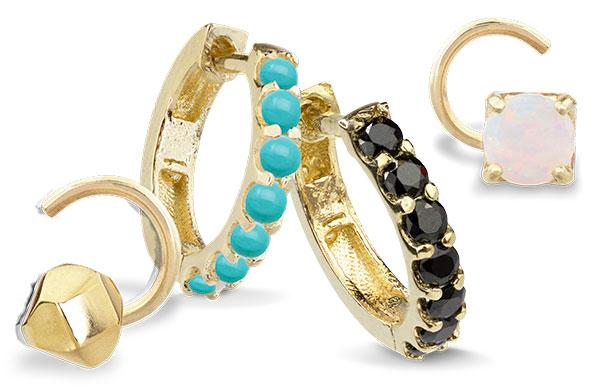 Maya Brenner x Alli Webb earrings