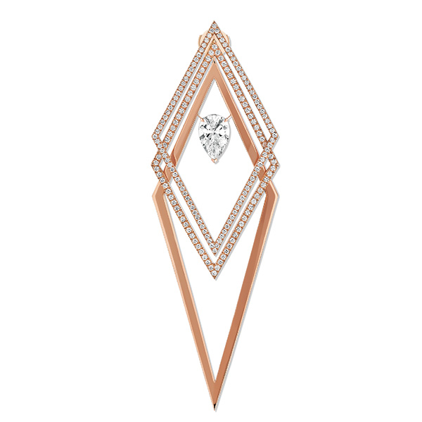 Messika Trapezistes earring