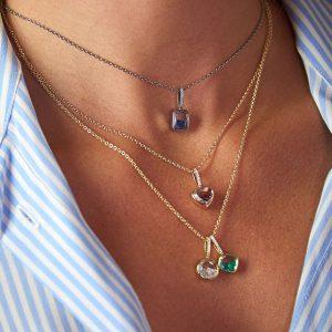 Moritz Glik Apura necklaces
