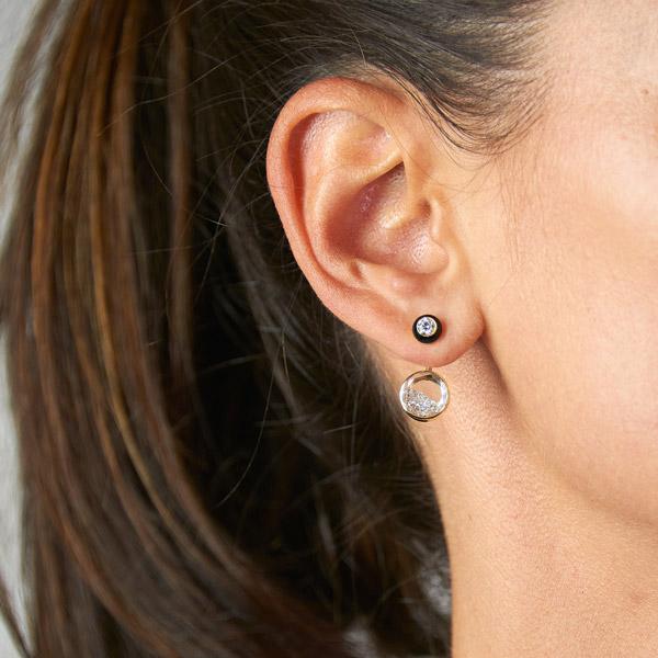 Moritz Glik Voa enamel earrings
