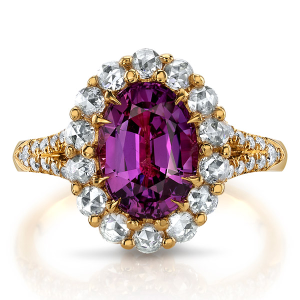 Omi Prive pink sapphire ring