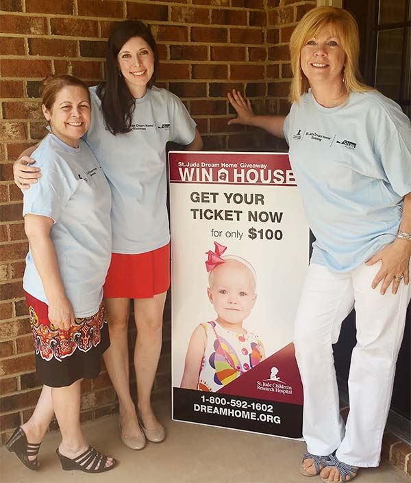 Perrys Diamonds and Jewelry team at St Jude dream home giveaway