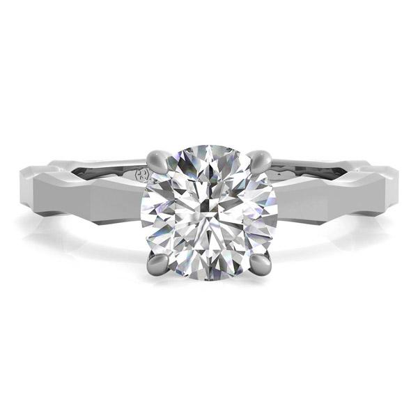 Ritani Octagon solitaire engagement ring