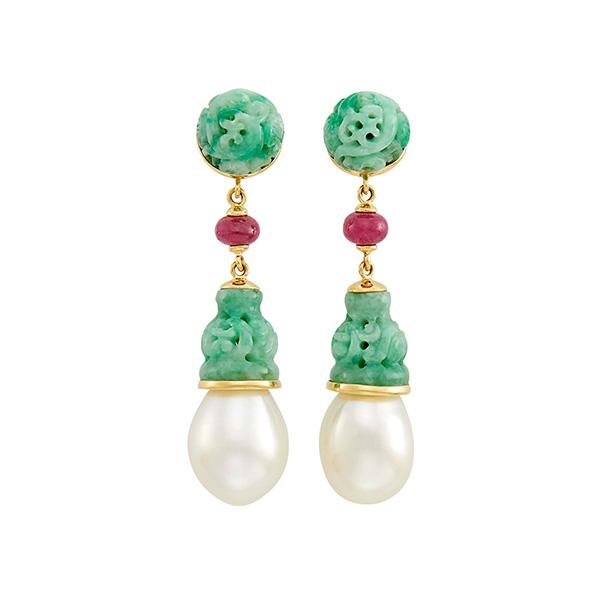 Seamnann Schepps earrings