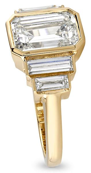 Single Stone Caroline engagement ring