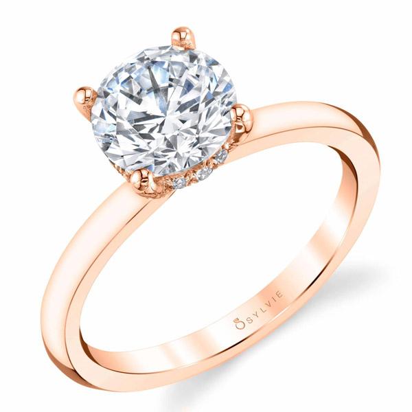 Sylvie Joanna engagement ring