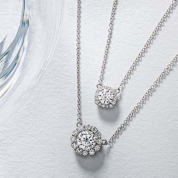 Tacori diamond necklaces