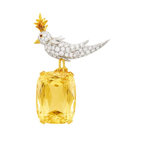 Tiffany Schlumberger bird brooch