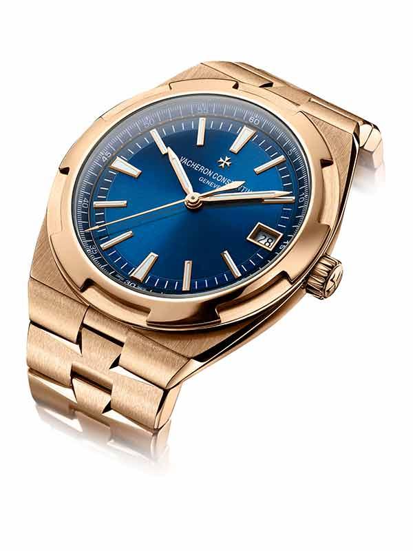 Vacheron Constantin Overseas gold bracelet watch
