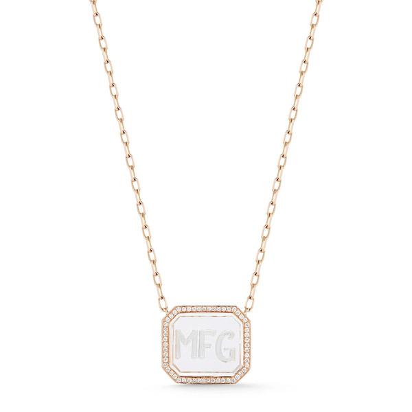 Walters Faith engravable rock crystal pendant