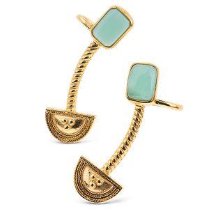 Yenae Collection Chrysoprase Earrings