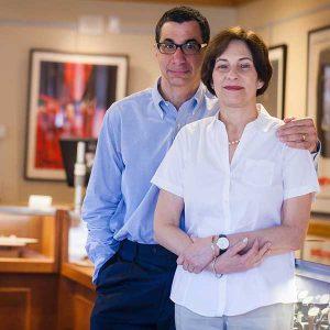 Bob and Rose-Marie Goodman Robert Goodman Jewelers