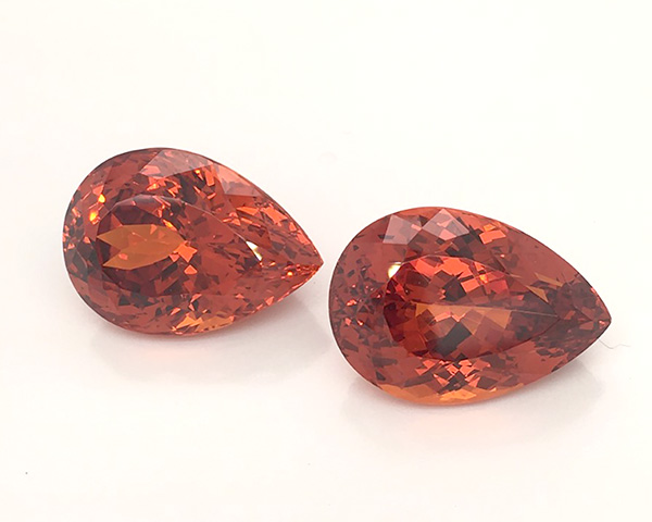 AGTA Best of Show spessartite garnets