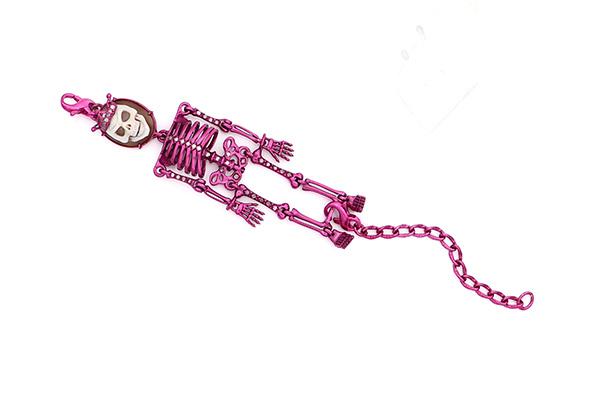 Amedeo pink Skeledo bracelet