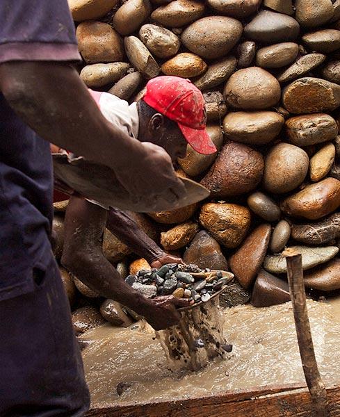 Americo a mercury free artisanal gold miner