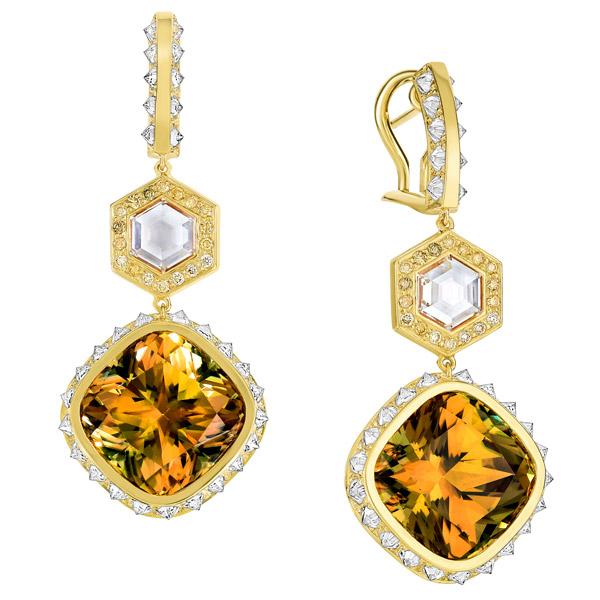Ana Katarina Sumerian Csarite earrings