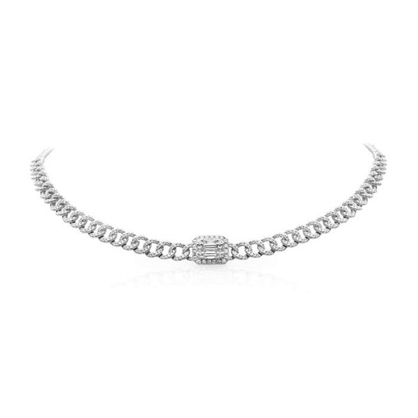 Anne Sisteron diamond necklace