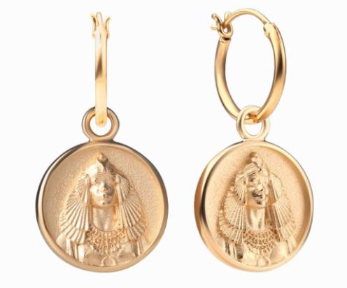 Awe Inspired Cleopatra earrings