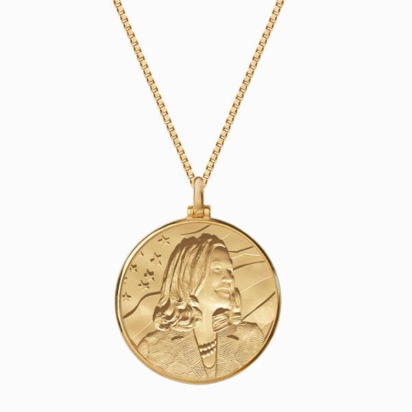 Awe Inspired Kamala Harris coin