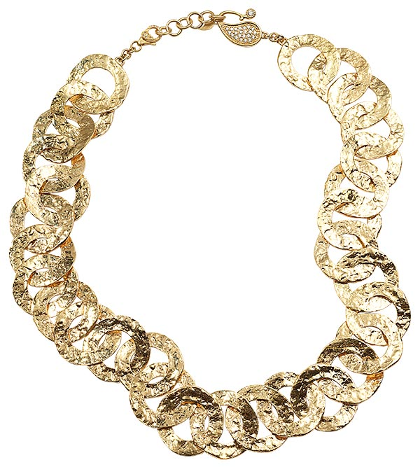 Coomi serenity open link necklace