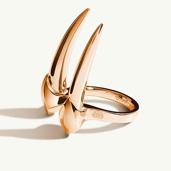 Diaboli Kill Damian Brevis horn ring