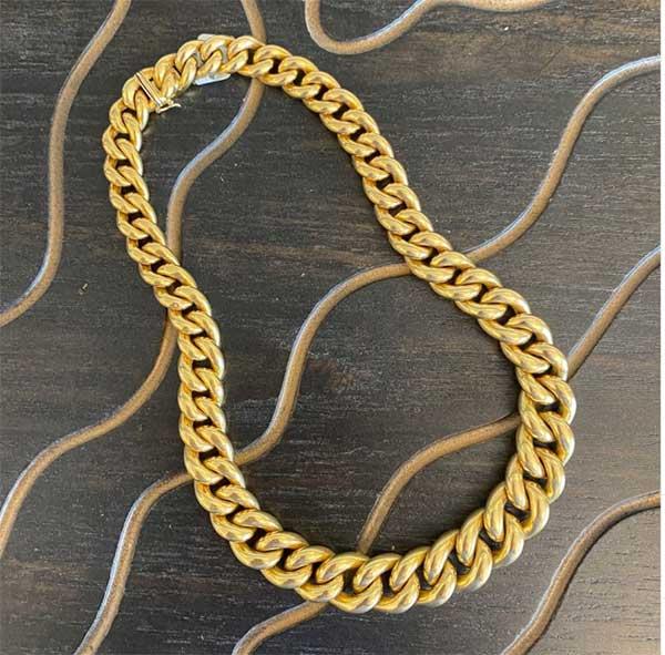 Earth Pebbles necklace