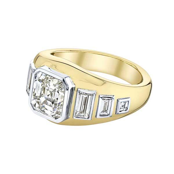 Emily P. Wheeler custom engagement ring