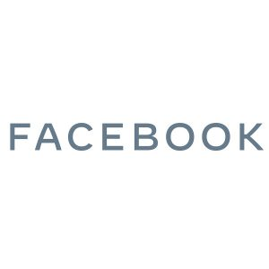 Facebook Wordmark Gray