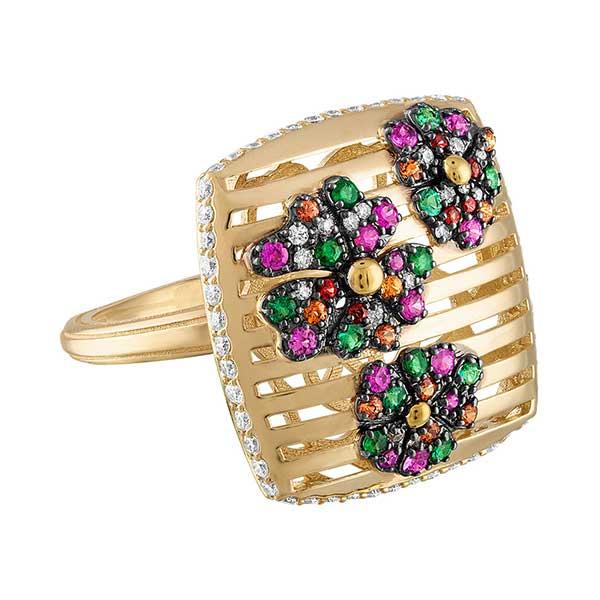 Gigi Ferranti Portofino flower ring