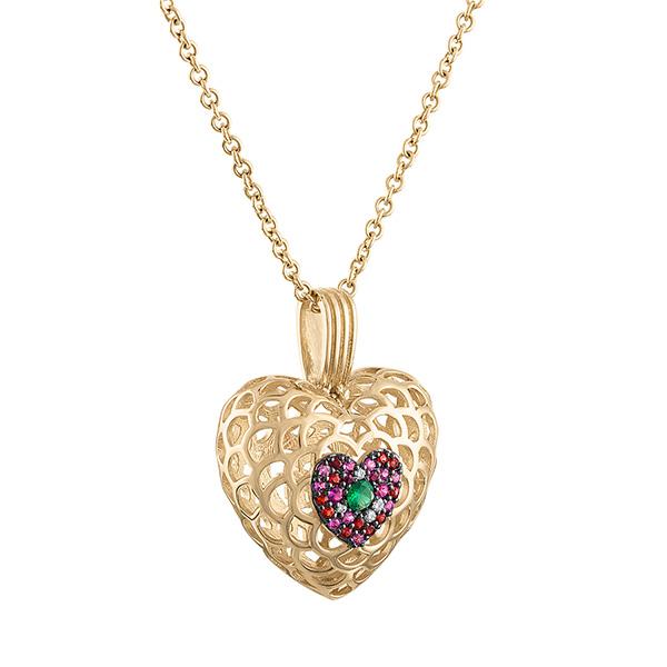 Gigi Ferranti Portofino heart pendant