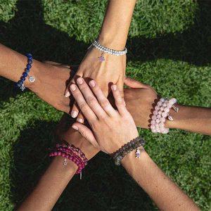 Girl Up beaded bracelets
