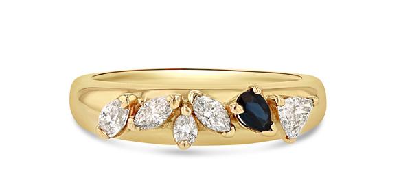 Grace Lee ring sapphire