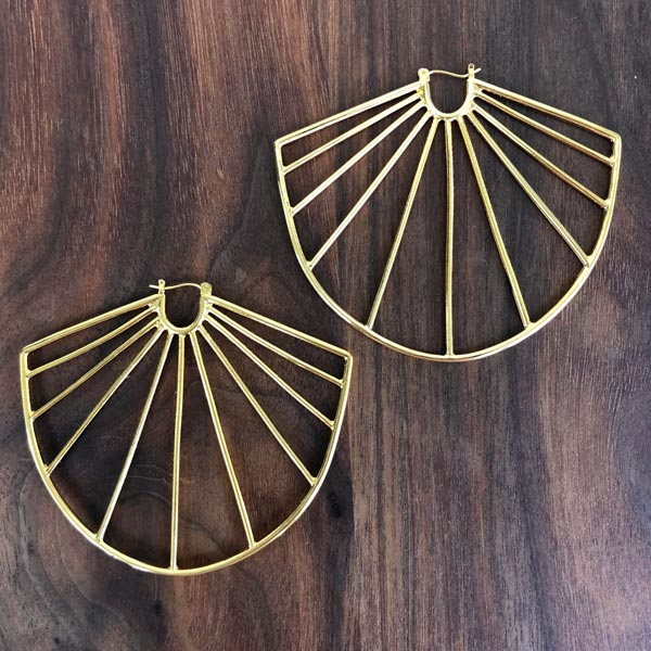 Hahn Jewelry Cleo hoop earrings