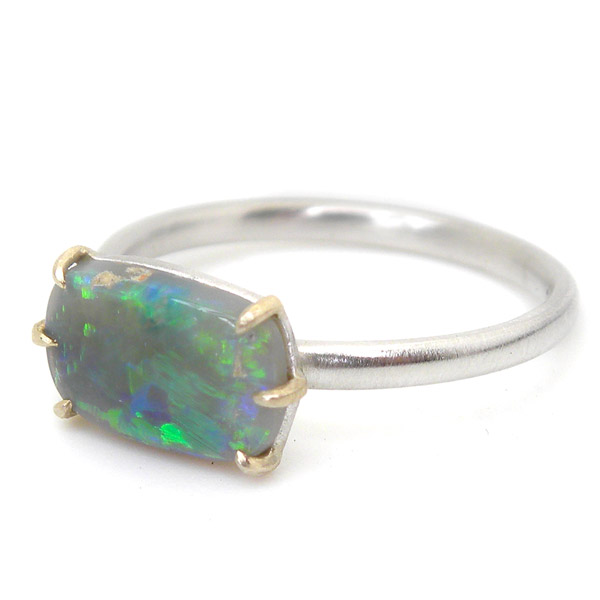 Hannah Blount Ancients 17 opal ring