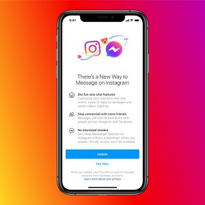 Instagram Messenger changes
