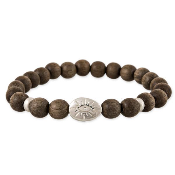 Jacquie Aiche men's scarab bead bracelet